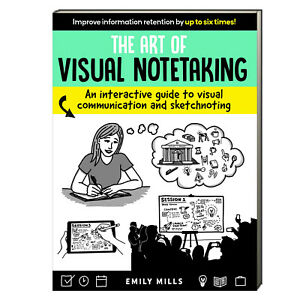 The Art of Visual Notetaking Interactive Guide by Emily Mills (paperback) NEW