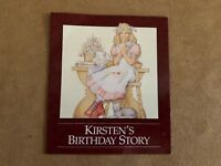 Kirsten's birthday Story pamphlet booklet Pleasant Company American Girl doll