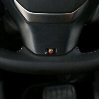 4Pcs Auto Lenkrad Aufkleber Emblem Abzeichen Logo Innenraum für Abarth