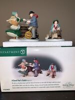 Department 56 A Good Day/'s Catch Village People New