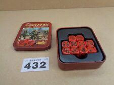 Warhammer Fantasy elfos de madera conjunto de dados Tin completa fuera de imprenta 432