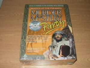 Murder At The Pyramids Murder Mystery Party Dvd Game * New & Sealed*