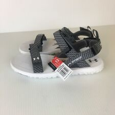 Under Armour Fat Tire Outdoors Strap Sandals Mens Size 13 US Wild Gripper White