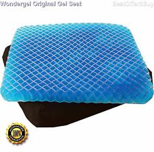WonderGel Original Gel Seat Cushion Truck Car Pain Protection Soft Comfort Pad