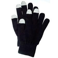 Muvit Touch Screen Gloves Handschuhe MUHTG0001, Size L, schwarz, black, Blister