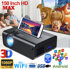 More details for 1080p hd mini portable pocket projector movie video home theater hdmi av sd usb