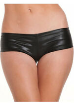 Women G Strings Leather Underwear Micro Thong Panty Boxer Briefs Boy Shorts Hot