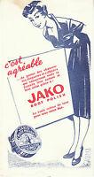 Buvard Vintage Crème de Luxe JAKO