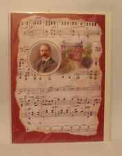 Music Gift Elgar Blank Greetings Card Bday Thankyou NEW Any Occasion Musician