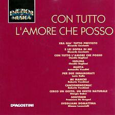 CD EMOZIONI IN MUSICA (De Agostini IT 9135/36) - CON TUTTO L'AMORE CHE POSSO