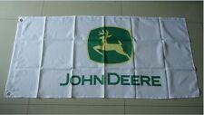 New Car Racing Banner Flags 3x5FT for John deere Flag Free Shipping White