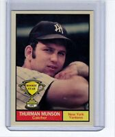 Thurman Munson '70 New York Yankees Rookie Stars series #11 by Monarch Corona
