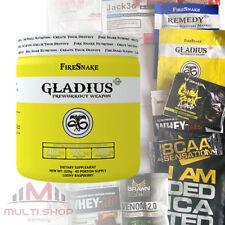 GLADIUS 320g Pre Workout Booster Muskelaufbau TOP Hardcore Formel + FREI BONUS