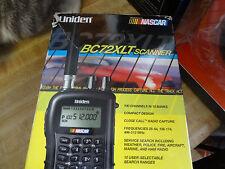 NASCAR Racing Race Scanner  Uniden BC72XLT