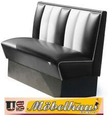 HW-120b American Dinerbank Sitzbank Diner Bänke Möbel 50´s USA Style Gastronomie