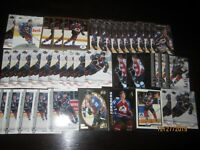 Huge Lot of (40) Peter Forsberg Hockey Cards Avalanche