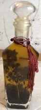 Oil Vinegar Indused Allspice Rosemary Decorative Kitchen Glass Bottle
