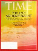 TIME MAGAZINE AUGUST 7 2017 THE ANTI ANTIDEPRESANT NEW AND UNREAD - SHIPS FREE