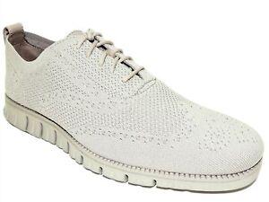 Cole Haan Men's Zerogrand Stitchlite Oxford Sneaker Ironstone/Ivory Size 10 M