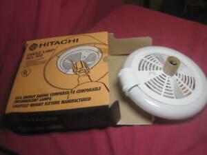 NEW VINTAGE Hitachi Circle Lamp HCL-100 120 Volts 45 Watts light bulb