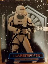 2016 Star Wars The Force Awakens 2 #6 Flametrooper Power of the First Order
