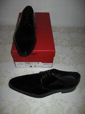 Hugo BOSS Schuhe UK 9,5 Eu 43,5 Feroke Derb Pa, Schwarz glänzend OVP