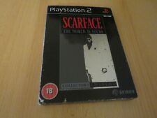 SCARFACE Limited Steelbook Collector's edition  PS2 pal