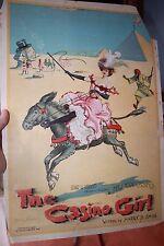 The Casino Girl Archie Gunn 1900 Original Advertising book poster