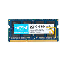 "Crucial 4GB 8GB PC3-8500 DDR3 1066MHz Memory for Macbook PRO 13"" Mid 2009 2010"