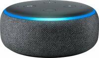 New Amazon Echo Dot (3rd Gen) Smart Speaker with Alexa Charcoal - FREE SHIPPING
