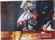 IRON MAN 3 MOVIE COMPLETE 60-CARD POISONED PALLADIUM PARALLEL SET