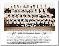 1958 San Francisco Giants- First Team Photo -Seals Stadium