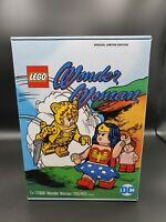DC FANDOME 2020 EXCLUSIVE WONDER WOMAN LEGO SET 77906 CHEETAH SDCC IN HAND NIB