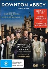 DOWNTON ABBEY Maggie SMITH Hugh BONNEVILLE Season One TV Series (4 DVD SET) NEW