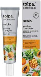 Tolpa Dermo Face Sebio Intensively Exfoliates Face Peeling 3 Enzymes ,40 ml