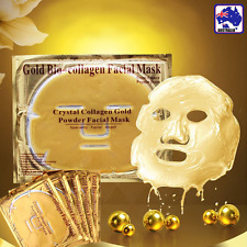 2pcs Gold Collagen Crystal Face Masks Anti Ageing Skin Care Facial JMBB72201x2