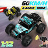 1:12 RC Electric Remote Control Crawler Car Vehicle 2.4Ghz Off-Road Toy Gift U