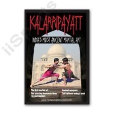 Kalarripayatt India Ancient Martial Art Training Dvd Indian budo weapons swords