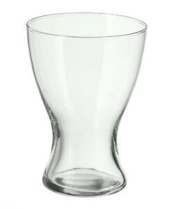 Glass Vase IKEA VASEN Tulip Flower Clear Vase Table Centrepiece Decorative