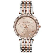 Women's Watch Michael Kors MK3726 Darci Dress Watches Quartz Two Tone Band Stars