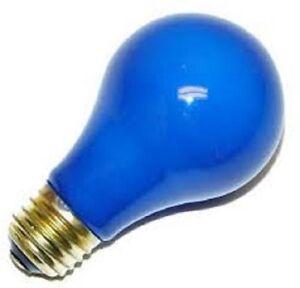 BULBRITE 106340 40W 120V A19 INCAND E26 BASE CERAMIC BLUE BULB (PACK OF 2)