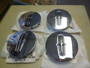 """New OEM 2008-2010 Lincoln Mark LT Wheel Center Caps 8L7Z-1130-E Set of 4 3.3"""""""