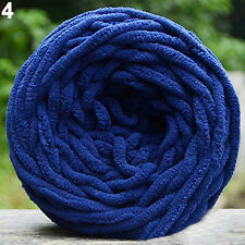 100G DIY Scarf Sweater Chunky Colorful Hand Knitting Scores Yarn Craft Gift NEW