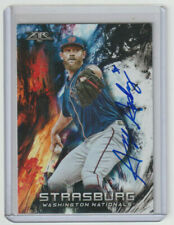 STEPHEN STRASBURG Nationals SIGNED 2018 Topps Fire #99 Autograph ON CARD AUTO