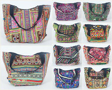 10 PC Tote/Shopping Bags - Vintage Handbags Banjara Wholesale Gypsy Purse New***