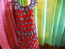 T42 -46  femme , artisanal  ;style batik , ensemble= les roses sur fond orange