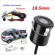 Waterproof Anti-Shock 170 CCD Car Rear View Backup Reverse Parking Camera Black