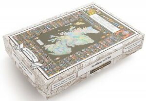 Scotland of Old (Clans)1000 Piece Jigsaw Puzzle 690mm x 480mm (jg)