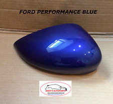 FORD FIESTA 08- WING MIRROR COVER LH OR RH SIDE IN PERFORMANCE BLUE
