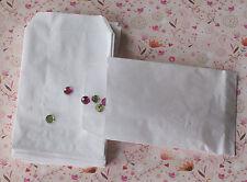 pochettes /sachets kraft blanchi  8x12cm de fabrication française(lot de 50)